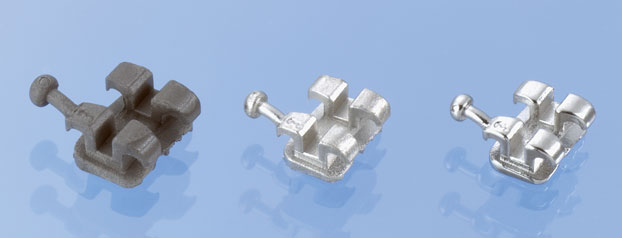 Orthodontic bracket, weight 0.07 g